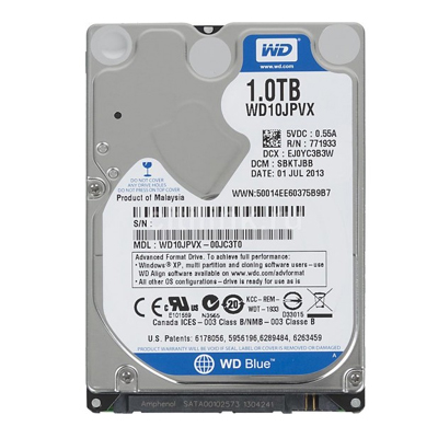 WD 1TB BLUE LAPTOP