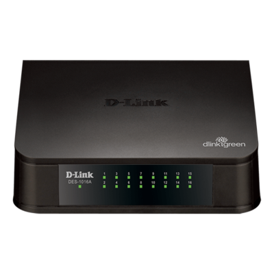 D Link 16 Port Switch