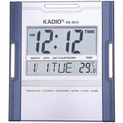 Kadio digital wall clock KD-3810N