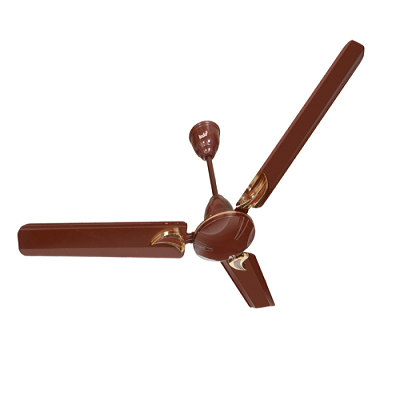 INDO CEILING FAN BUDGET DECO SMOKE BROWN