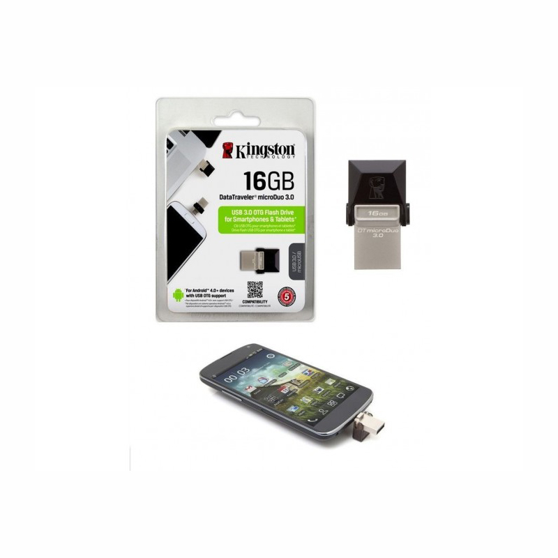 KINGSTON PENDRIVE 16 GB 3.0 OTG