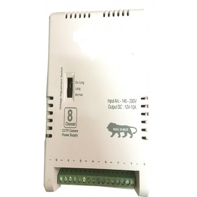 CCTV POWER SUPPLY 8CH HEAVY DUTY