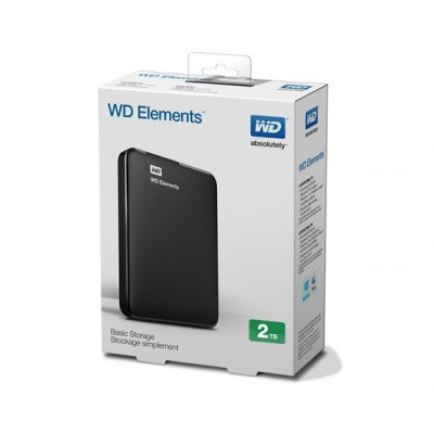 WD Element 2TB hard drive