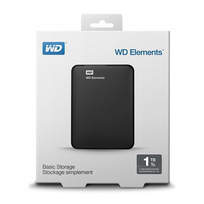 WD Element 1TB Hard drive